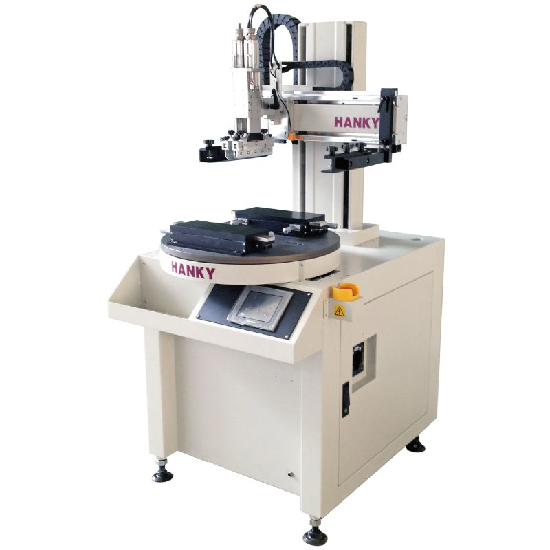 Round Indexing Table Screen Printer