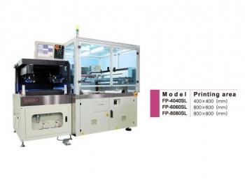 觸控面板用影像自動對位網印機