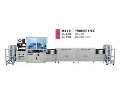 Fully Automated In Line Screen Printing Machine with Loading/Unloading Cassette