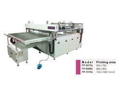 Four Posts Shuttle Table Screen Printing Machine
