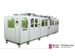捲對捲自動對位網印機生產線