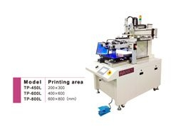 screen printer with sliding table