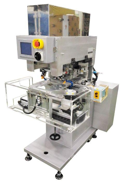 Semi Automatic Pad Printer for Single Color Printing SCL-100PM