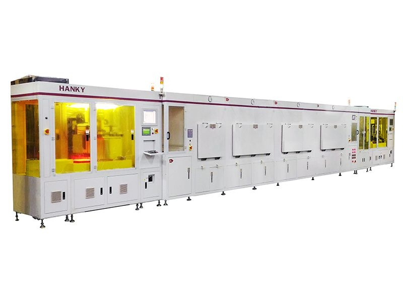 Automatic Screen Printing Line For Silicon Wafer Solar